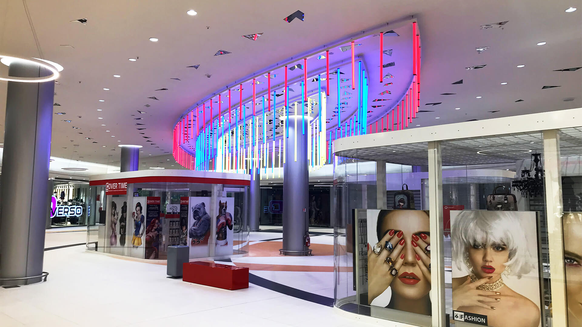 FURNISHING SOLUTIONS FOR SHOPPING CENTERS